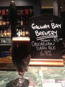 Cascadian Dark Ale on cask