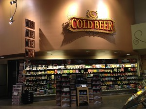 Beer is clearly being championed in Whole Foods