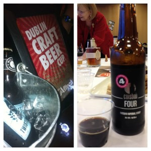 Hilden's Twisted Hop & the Russian Imperial Stout won the first 2 Dublin Craft Beer Cups