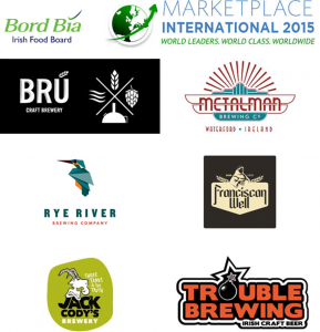 Breweries at Bord Bia's Marketplace 2015