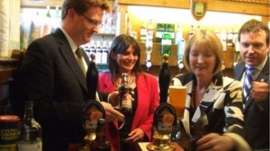 Harriet Harman is acting leader of the Opposition and of the Labour Party. She is pictured alongside Lib Dem Danny Alexander, former Chief Secretary to the Treasury and one of the big names to lose