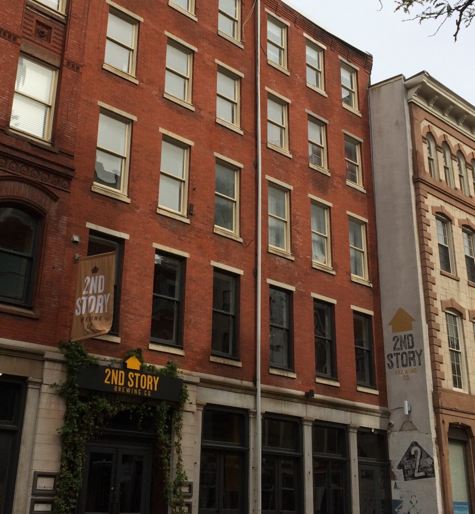 2nd Story Brewing can be found on 117 Chestnut Street.