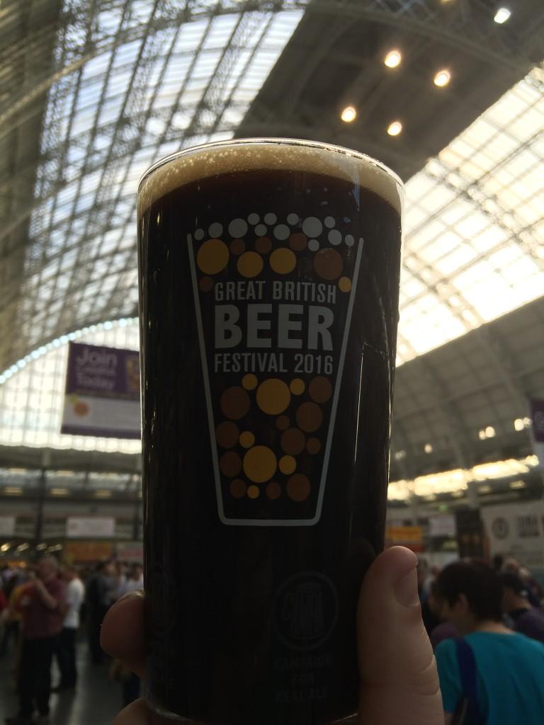 Great British Beer Festival 2016 Pint